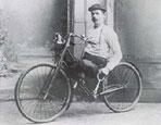 Urmakare Larsson,1890-talet..